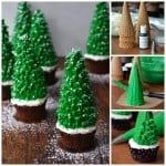 christmas tree cupcakes recipe