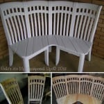diy corner bench chairs