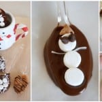 hot chocolate flavor spoons