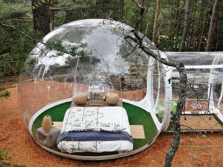 outdoor camping bubble