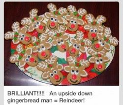 reindeer gingerbread men recipe