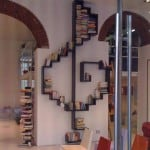 treble clef bookshelf