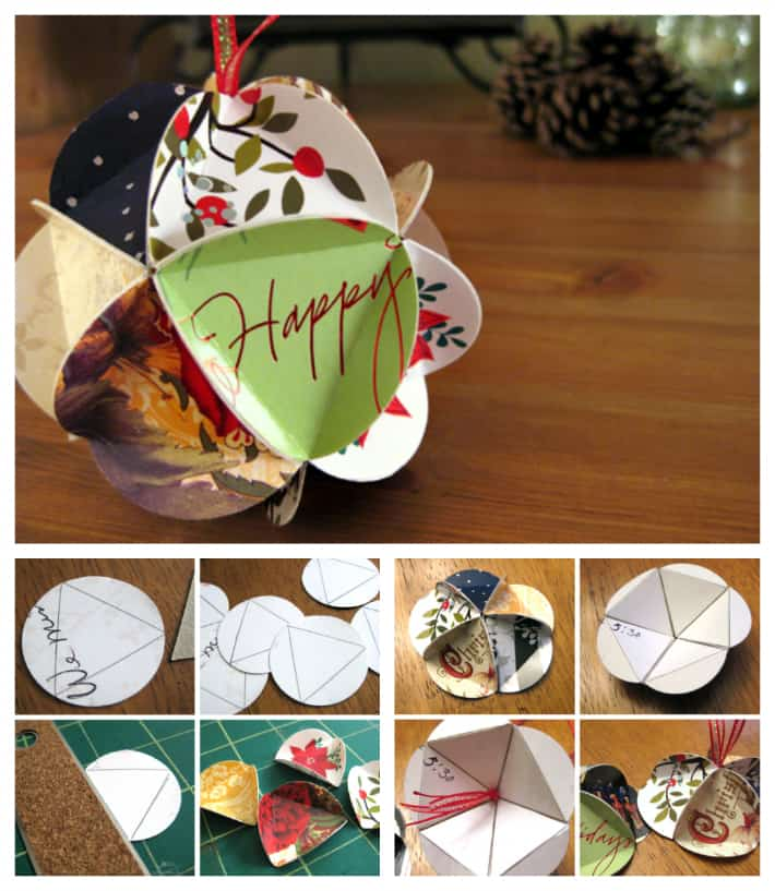 What to do with all those christmas cards diy cozy home for What to do with old christmas ornaments
