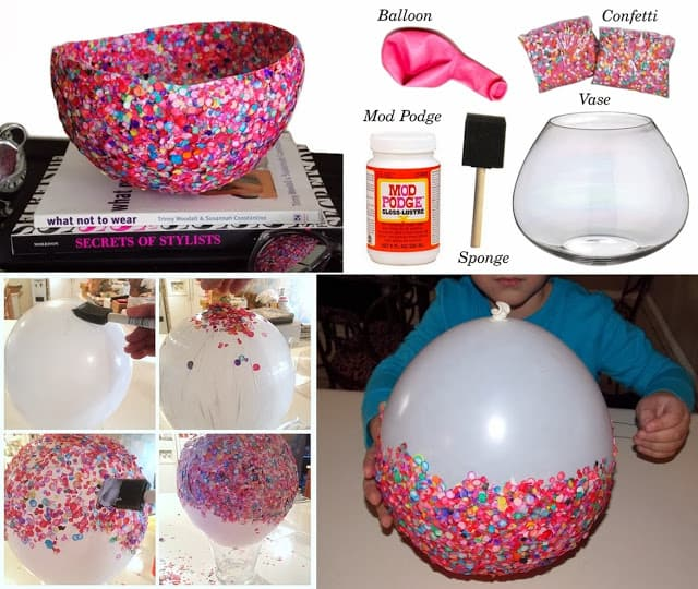 confetti bowl tutorial