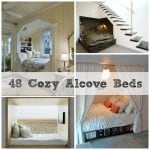 cozy alcove beds