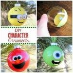 diy character ornaments