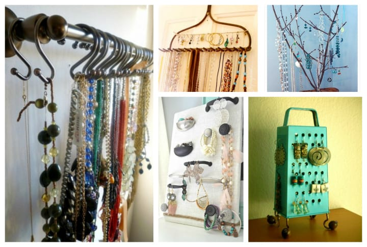 Fun DIY Ways To Organize and Display Your Jewelry DIY Cozy Home