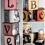 family memories letter blocks