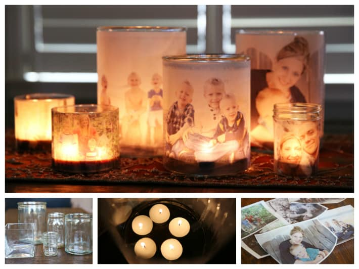 family photo luminary tutorial