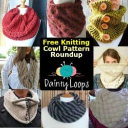 8 Free Knitted Cowl Patterns