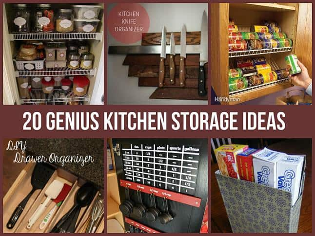 kitchen storage hacks