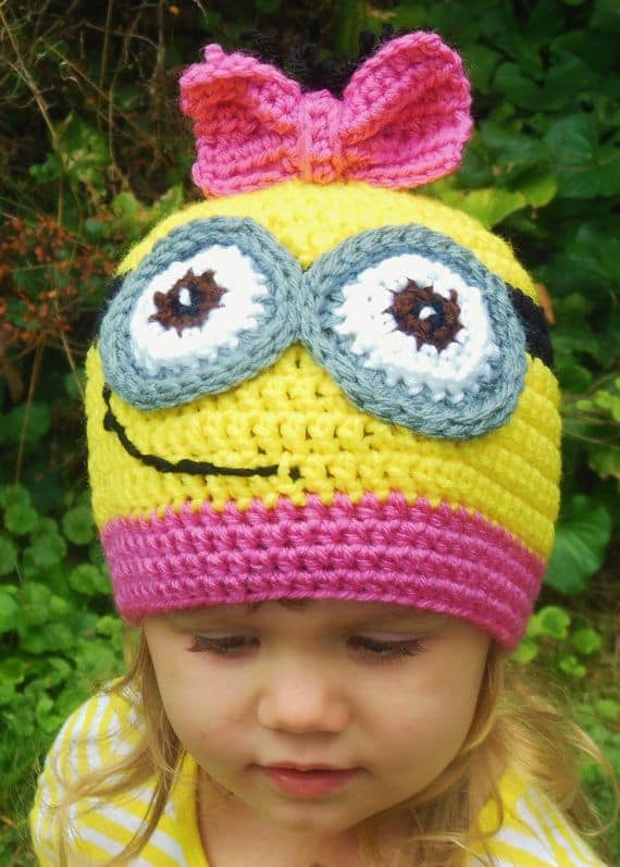 Crochet Minion Hat Patterns
