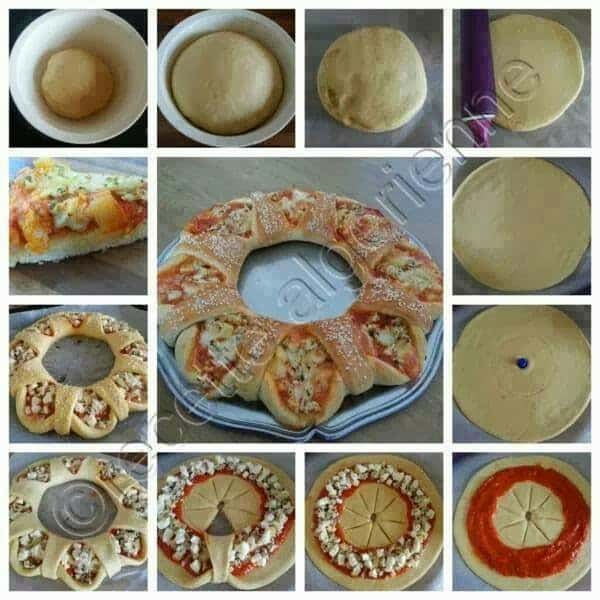 pizza wheel party appetizer
