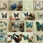 plastic bottle butterflies craft