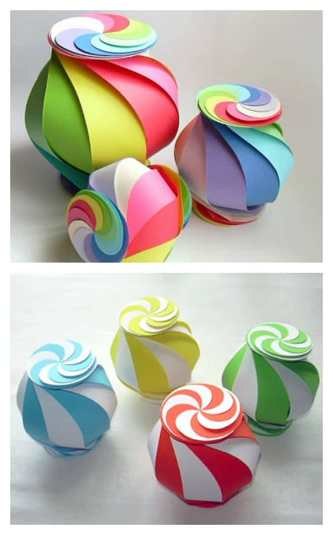10 Sided Yin Yang Globe Paper Craft
