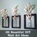beautiful diy wall art