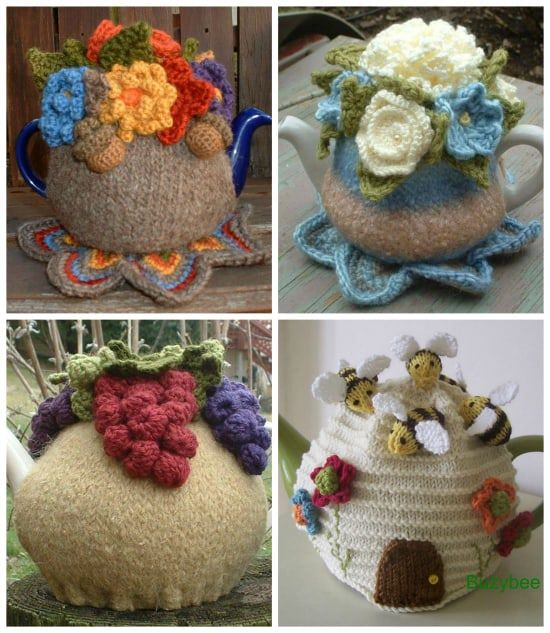 Crochet Tea Kettle Cover Patterns