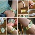 diy button bracelet 2