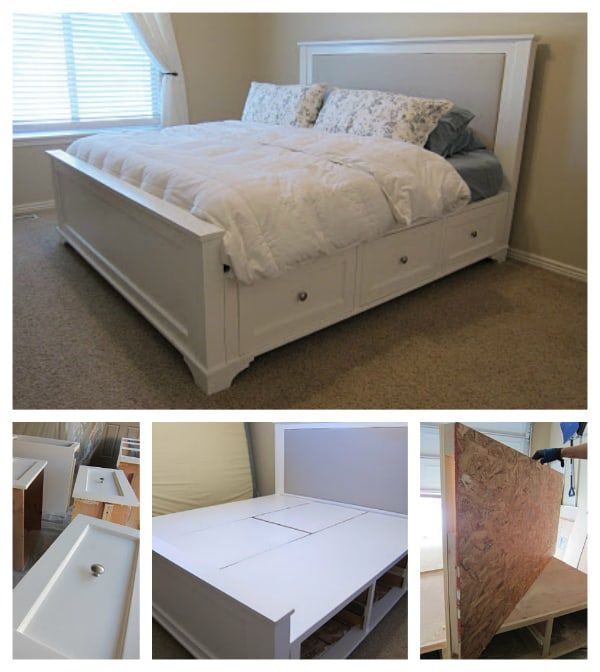 Diy King Sized Bed Plans