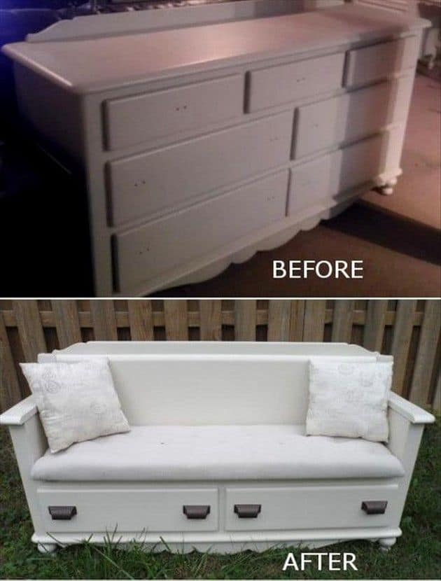 Well known Clever Ways To Repurpose A Dresser | DIY Cozy Home LH78