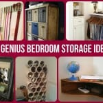 genius bedroom storage ideas
