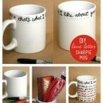 love letter sharpie mug