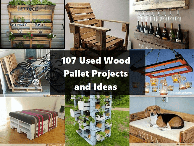 Brilliant Wood Pallet Projects And Ideas