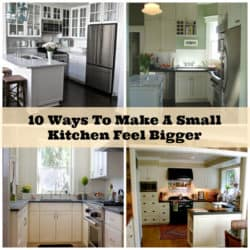 10 Creative Ways To Make A Small Kitchen Feel Larger