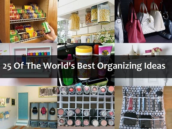 25 Greatest DIY Organization Tips Of All Time on storage for home, organization trends, sewing for home, safety tips for home, shoes for home, organization furniture, decorating for home, organization kitchen, bible study for home, crafts for home, earth day for home, diy projects for home, organization people, party ideas for home, cleaning products for home, organization skills, pinterest for home,