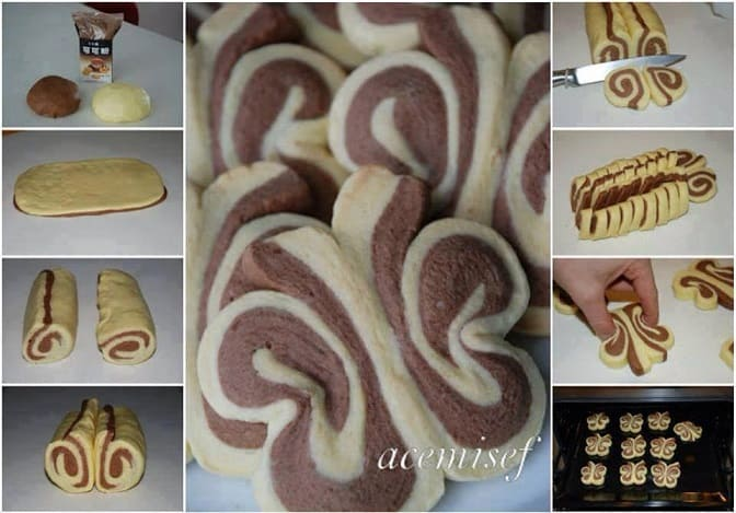 butterfly roll recipe