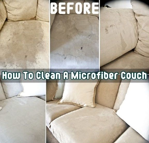 How To Clean A Microfiber Couch | DIY Cozy Home