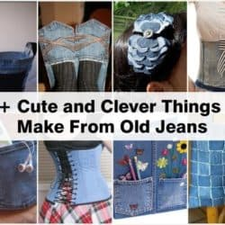 21 Cute and Clever Ways To Repurpose Old Jeans
