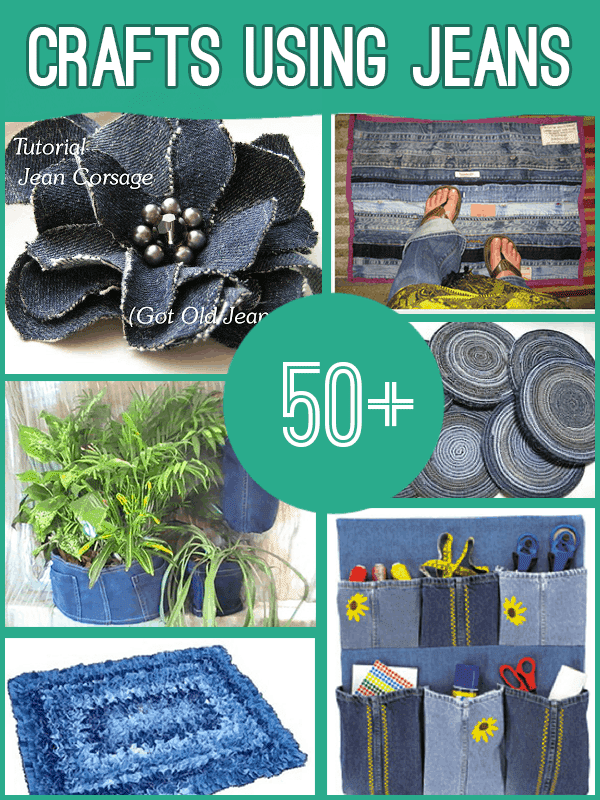 denim jeans crafts