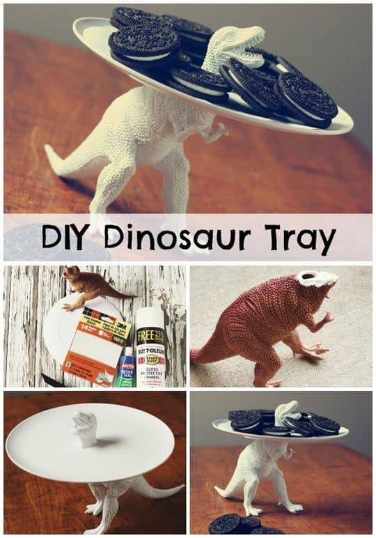 dinosaur tray tutorial