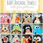 free baby towel patterns