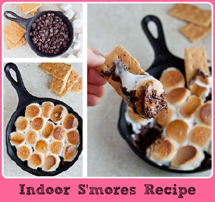 indoor smores recipe