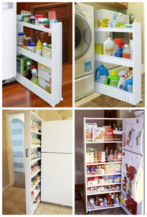 slide out storage inspiration