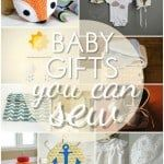 10 Baby Gifts You Can Sew