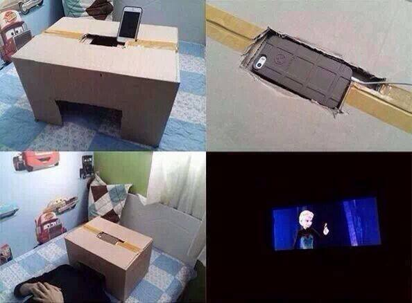 Smartphone Movie Theater