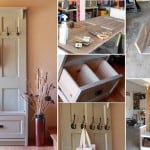 DIY Door Entry Bench