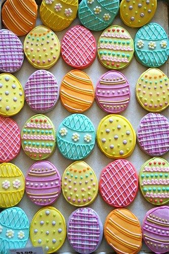 Spring Cookie Creations