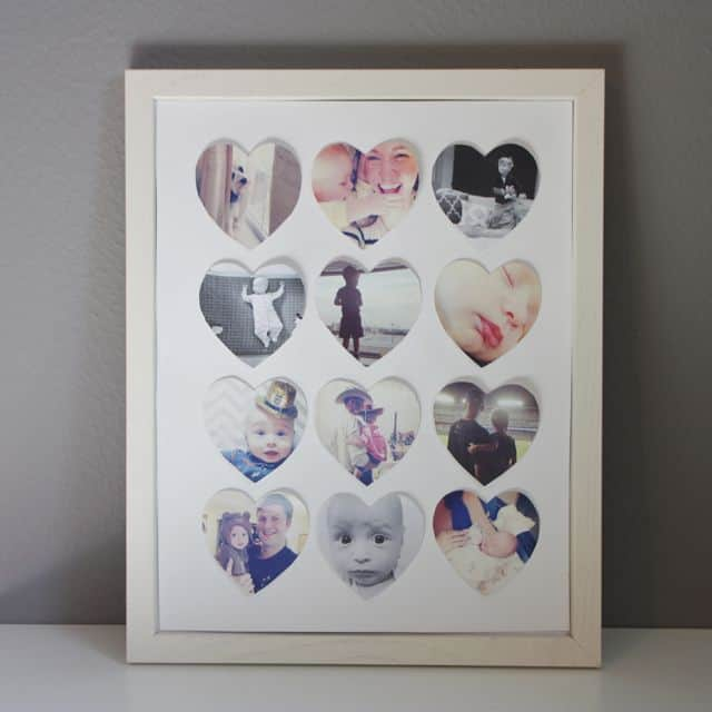 DIY Heart Frame For Instagram Photos