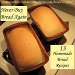 Never Buy Bread Again-13 Must Try Bread Recipes