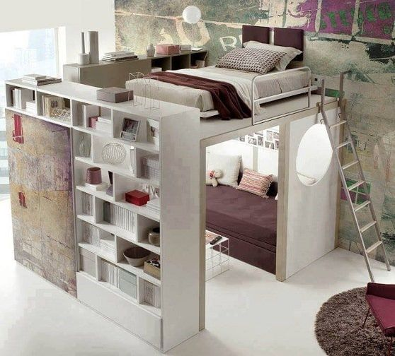 loft bedroom compact living