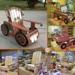 """Tow Mater"" Adirondack Chair"