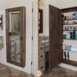 Hidden Bathroom Mirror Storage