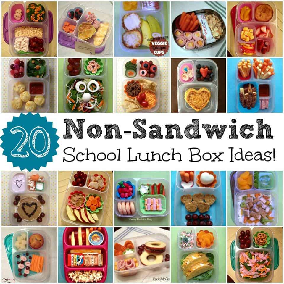 20 Allergy Friendly Non-Sandwich Lunch Ideas