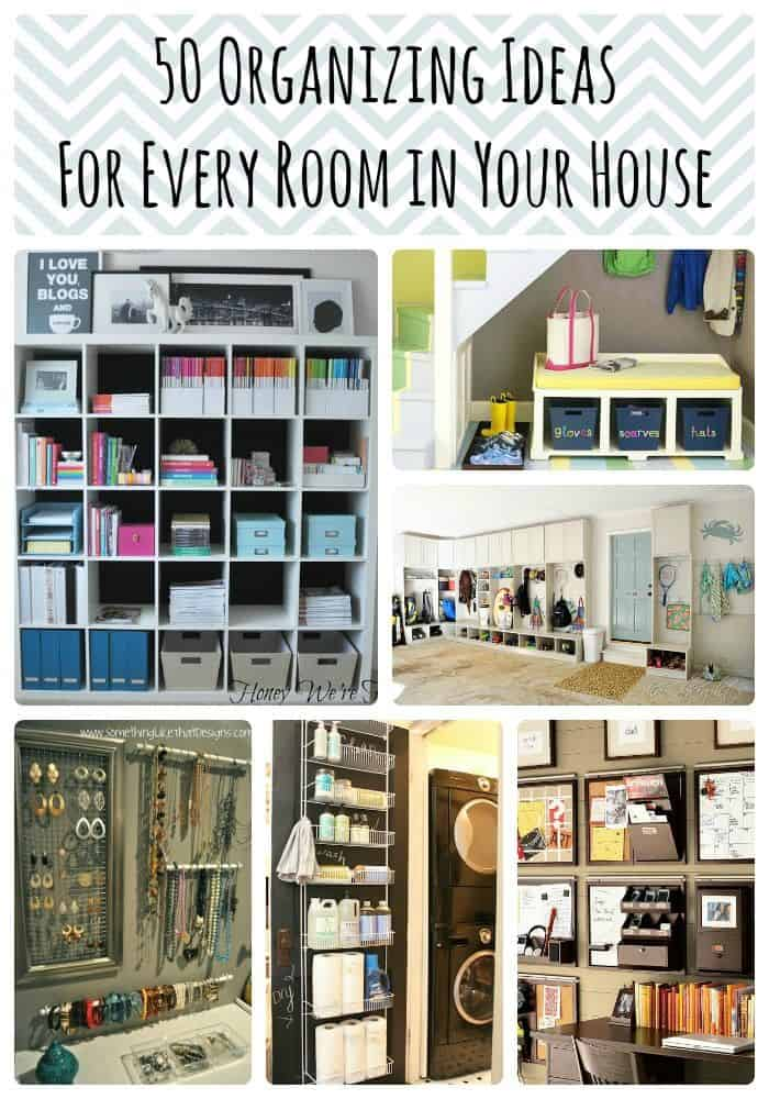 50 Brilliant Organization Ideas For Every Room In Your Home