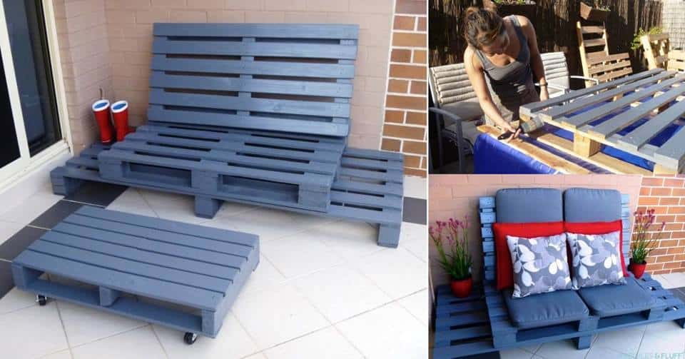 Patio Pallet Lounge