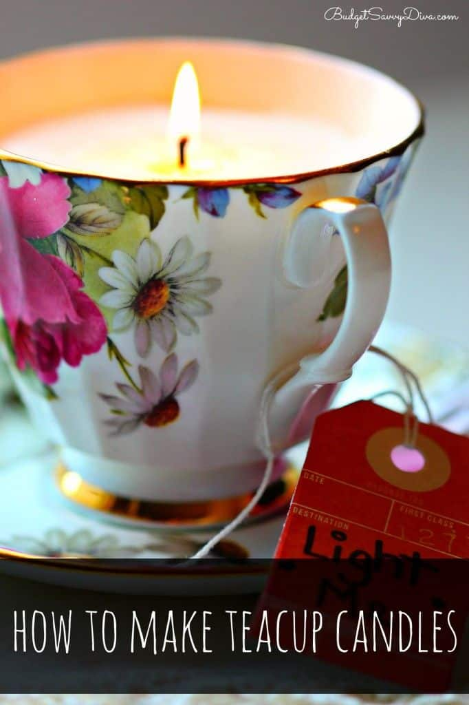 Too Cute Teacup Candles